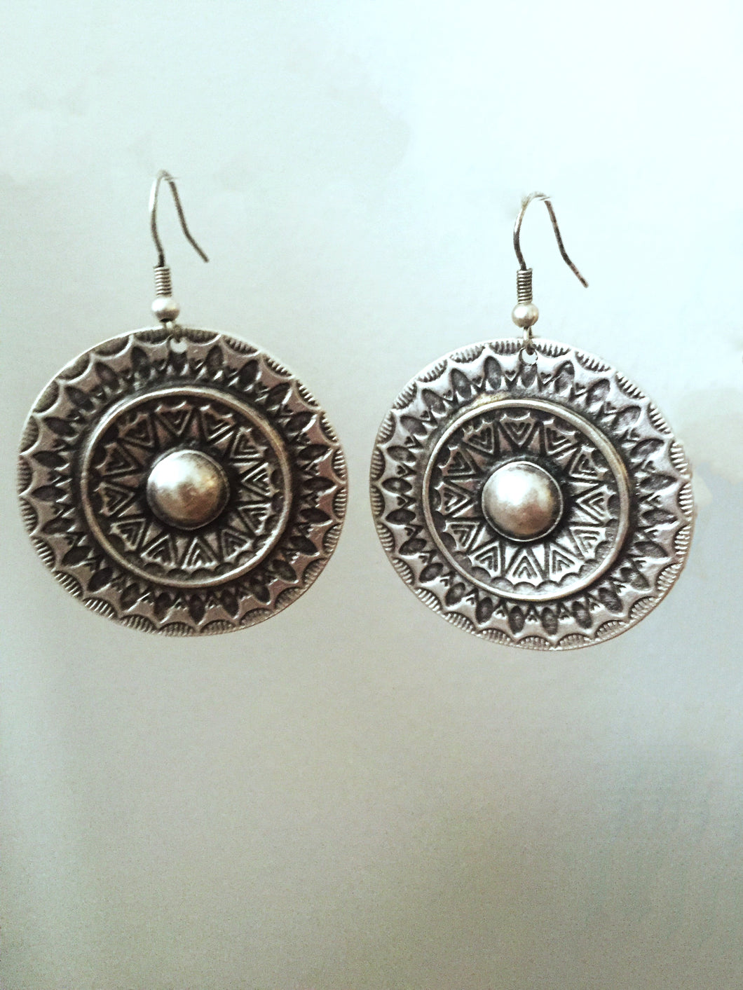 Pewter Earrings - TMRW STUDIO