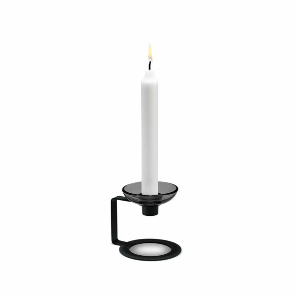 LUMI Candle Holder, 1-Armed, 3.6""