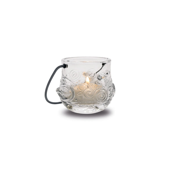 Tea Light Holder, Clear