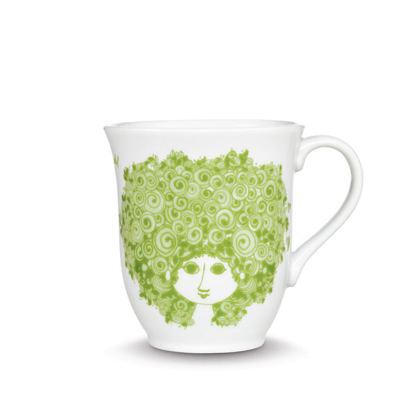 Mug, Rosalinde - Green, 11.8 oz
