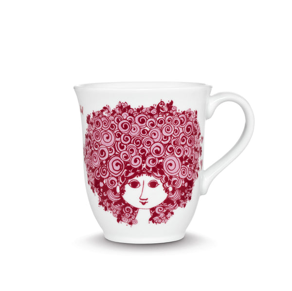 Mug, Rosalinde - Red, 11.8 oz