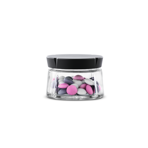 Grand Cru Glass Storage Jar 0.3 Qt.