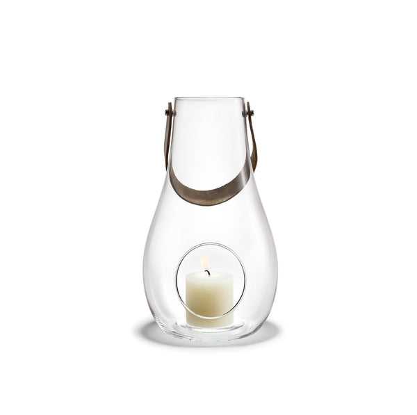 Design with Light Clear Lantern, 11.4""
