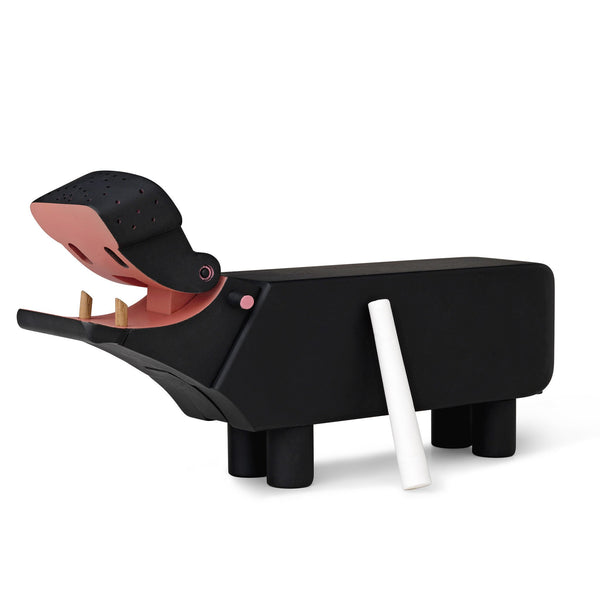 Kay Bojesen Hippo, black-painted