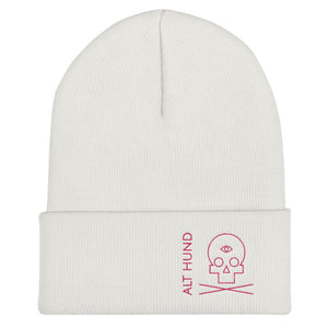 Skull Cap for the Skull - Alt Hund - White/Pink