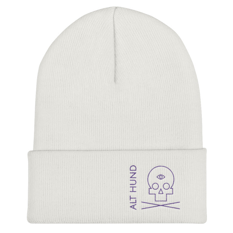 Skull Cap for the Skull - Alt Hund - White/Purple