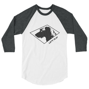 Let's Play - Alt Hund - 3/4 sleeve raglan shirt