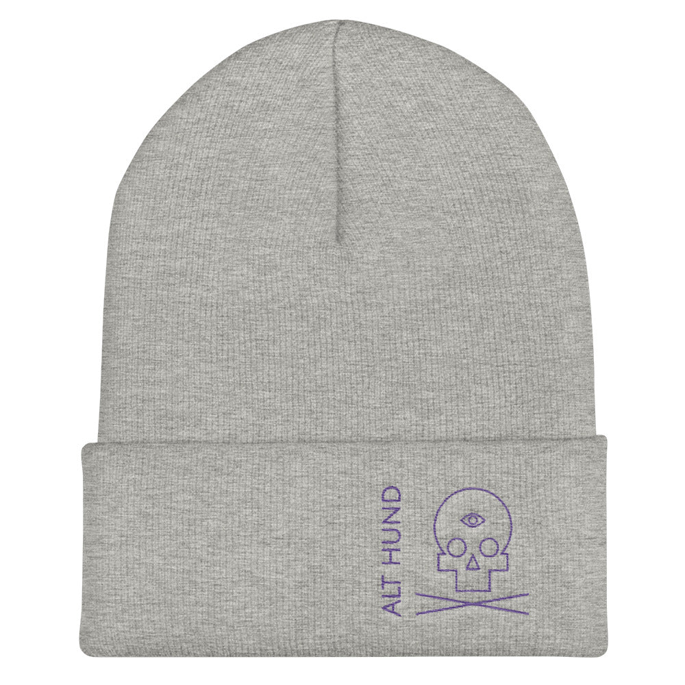 Skull Cap for the Skull - Alt Hund - Heather/Purple