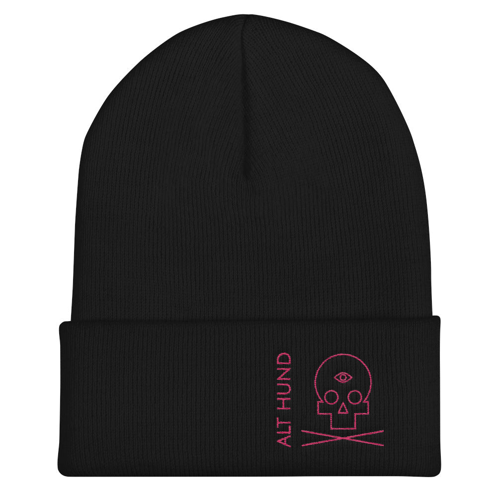 Skull Cap for the Skull - Alt Hund - Black/Pink