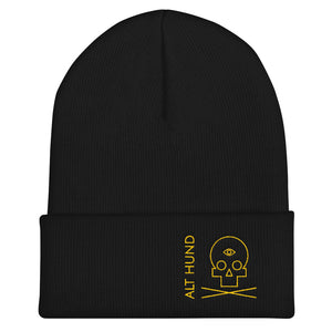 Skull Cap for the Skull - Alt Hund - Black/Gold