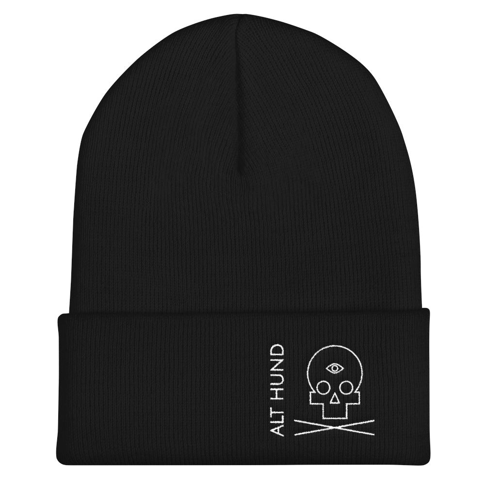 Skull Cap for the Skull - Alt Hund - Black/White