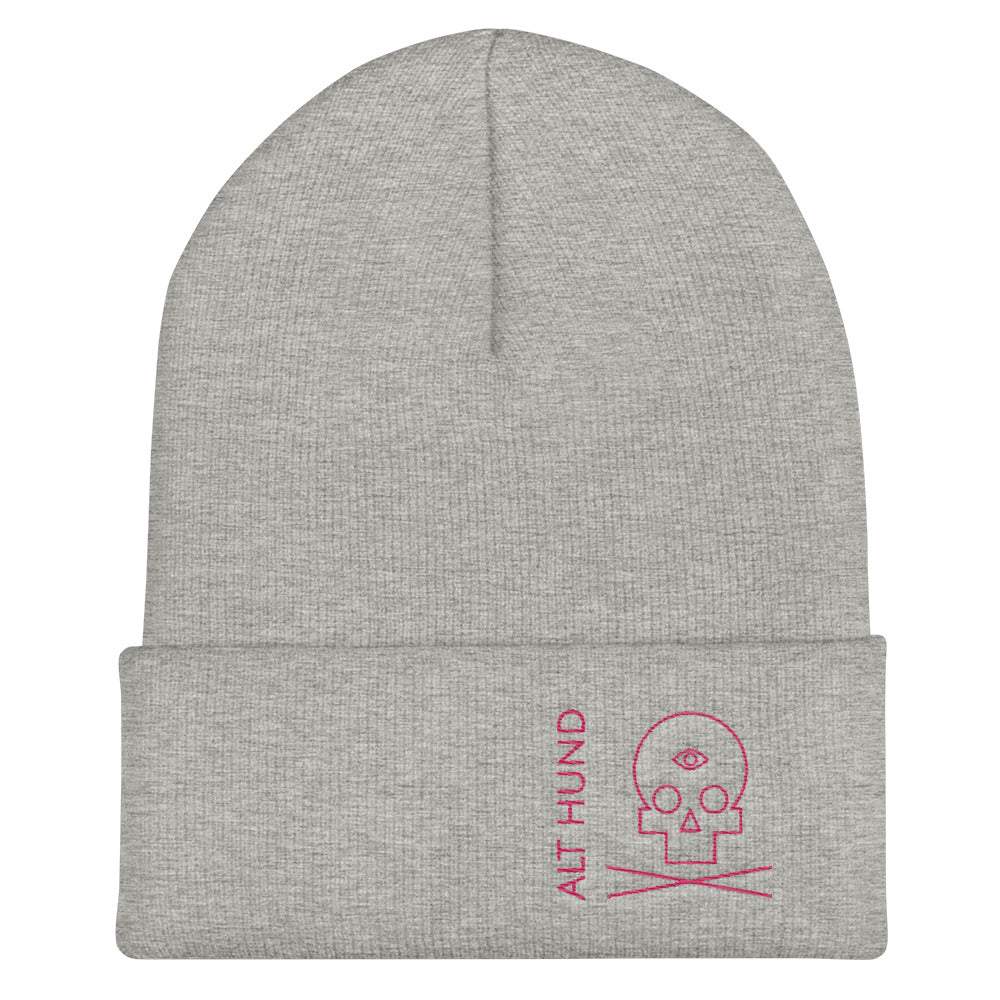 Skull Cap for the Skull - Alt Hund - Heather/Pink