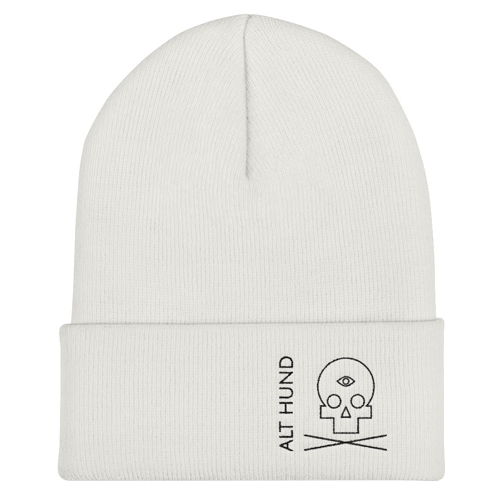 Skull Cap for the Skull - Alt Hund - White/Black