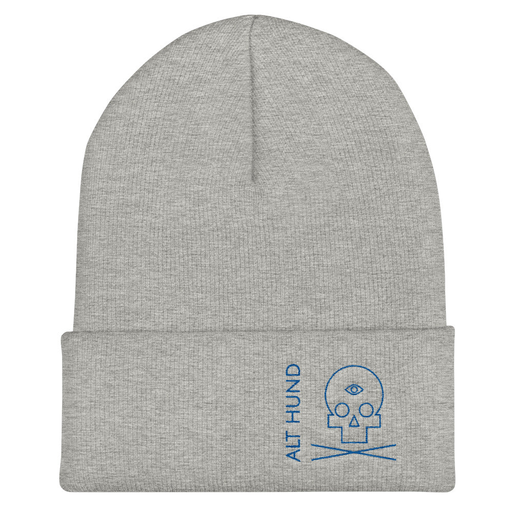 Skull Cap for the Skull - Alt Hund - Heather/Royal Blue