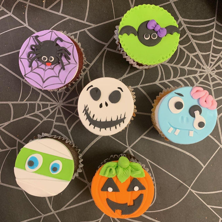 Halloween Cupcake - Set of 6