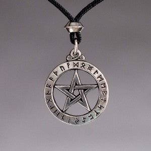 Runic Pentacle Small