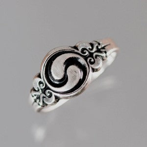 Celtic Spiral Ring Sterling Silver