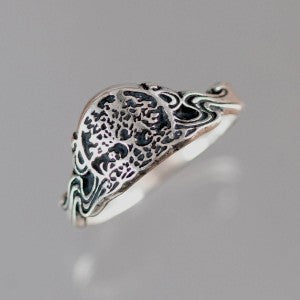 Celtic Tree of Life Ring Sterling Silver