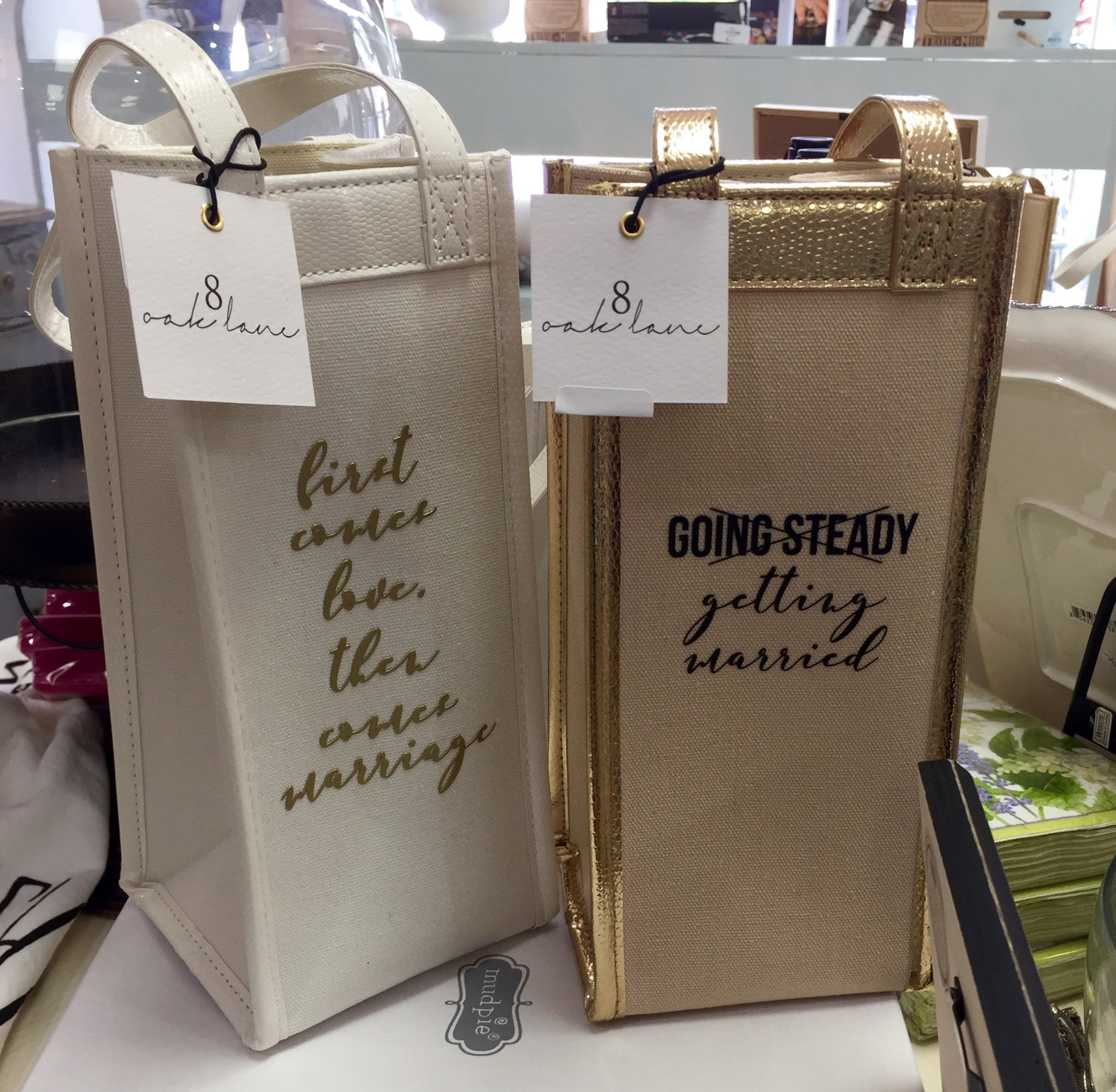 Oak Lane wine bags