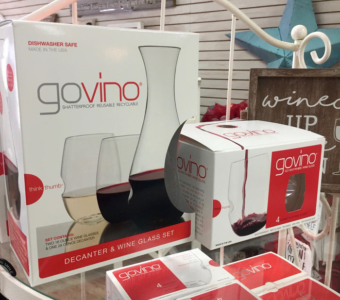 Govino Wine Glasses/Carafe