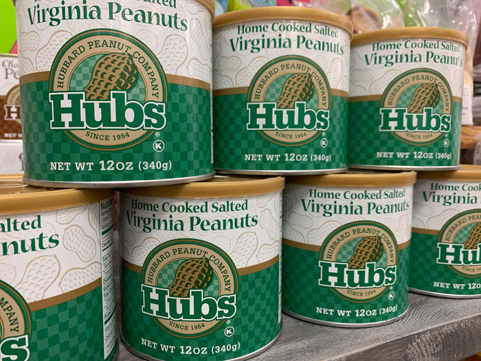 Hubs Home Cooked Salted Virginia Peanuts (12 oz)
