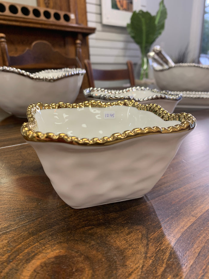 Pampa Bay - Small Dish (gold or silver)