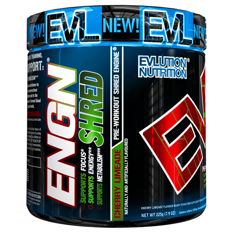 ENGN® SHRED Pre-Workout Engine® (30 Servings) Cherry Limeade