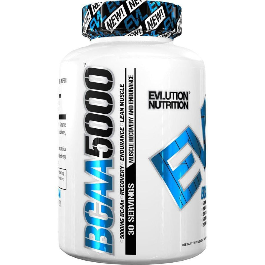 Evlution BCAA5000 Capsules (30 Servings)