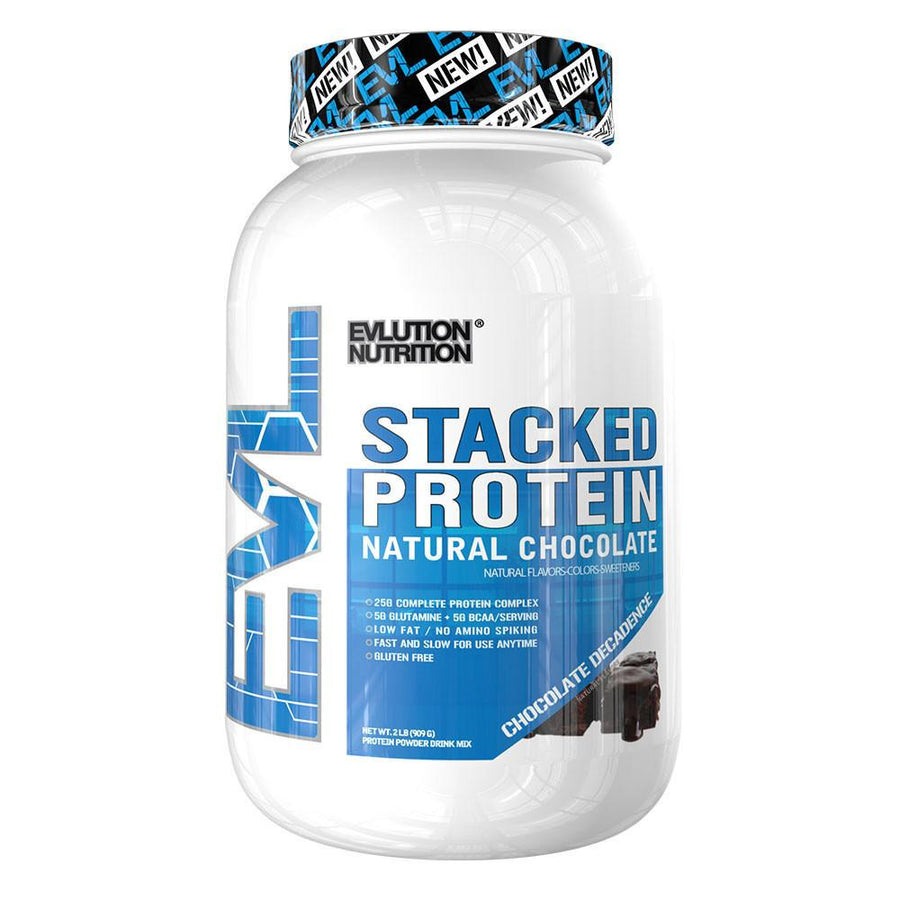 Evlution Stacked Protein NATURAL (Powder) (24 Servings) (2lb)