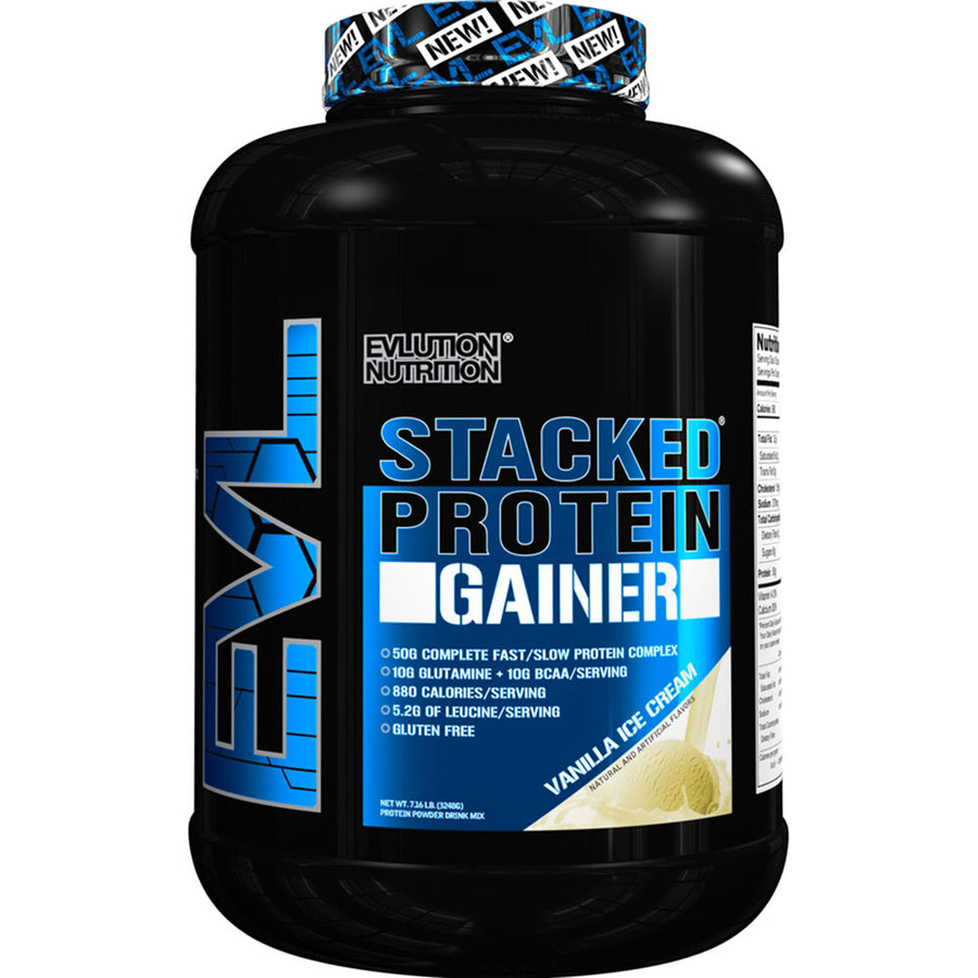 Evlution Stacked Protein GAINER (Powder) (14 Servings) (7lb)