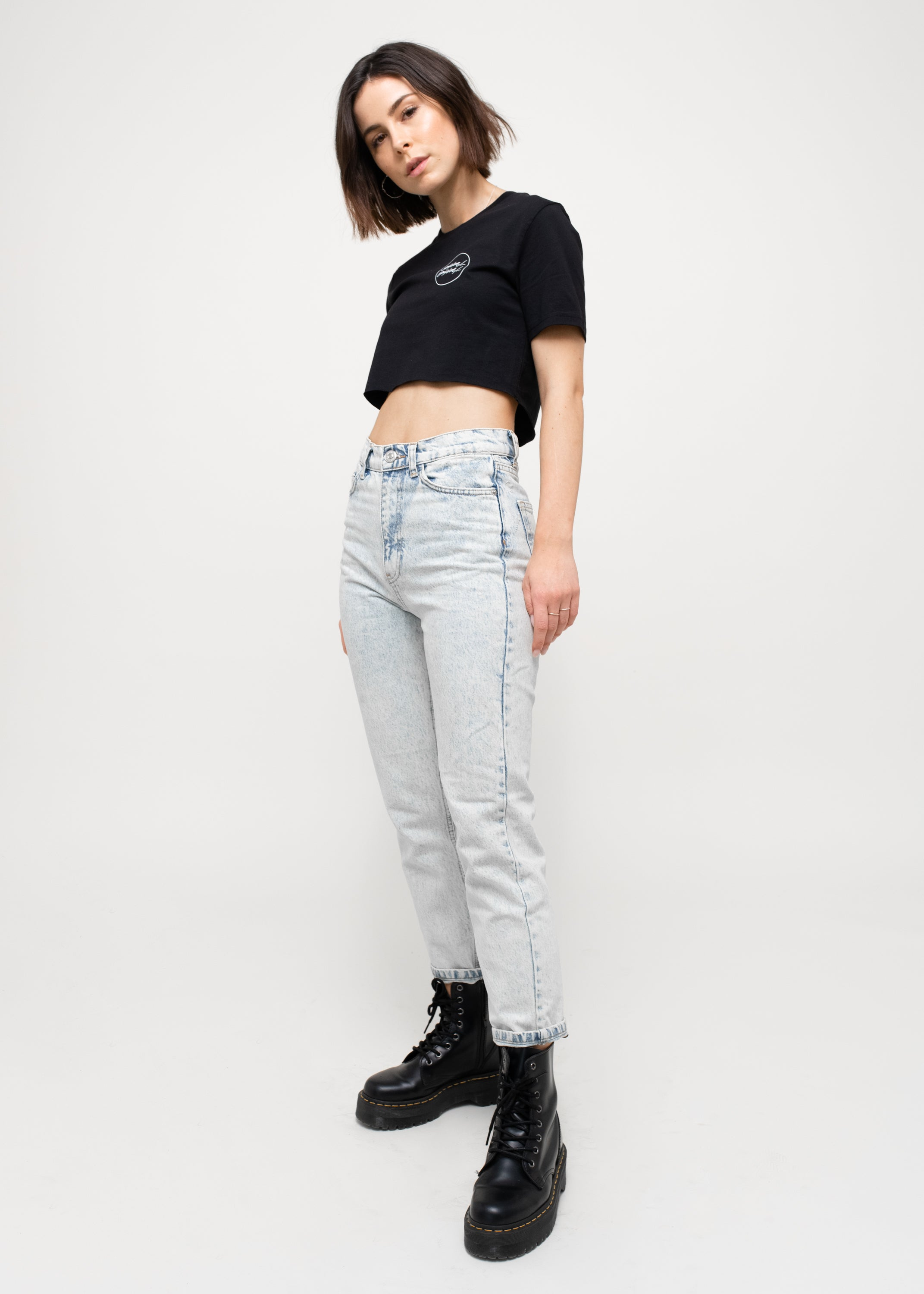 Lena - ONLY LOVE Cropped T-Shirt