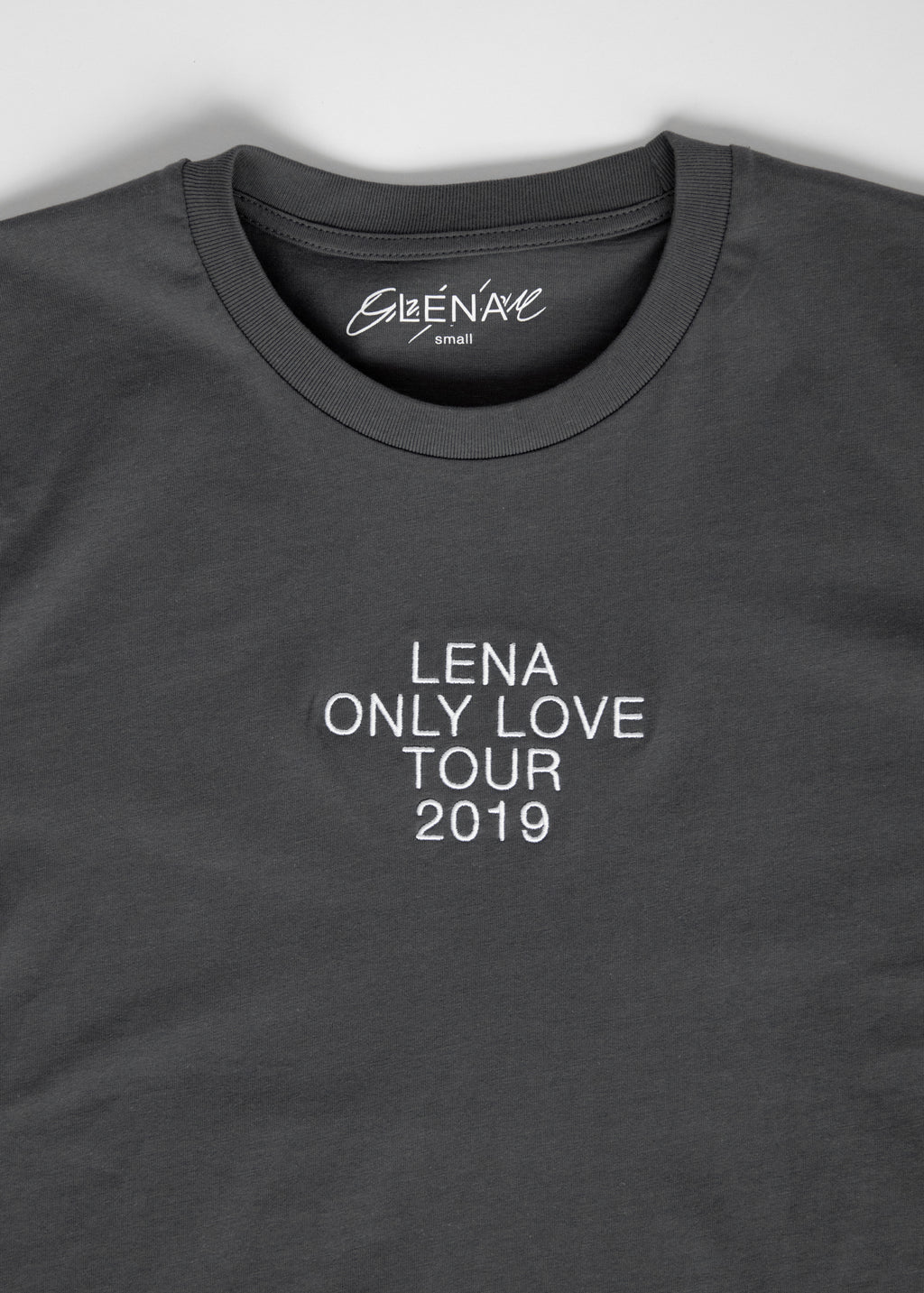 Lena - ONLY LOVE Tour T-Shirt Grau