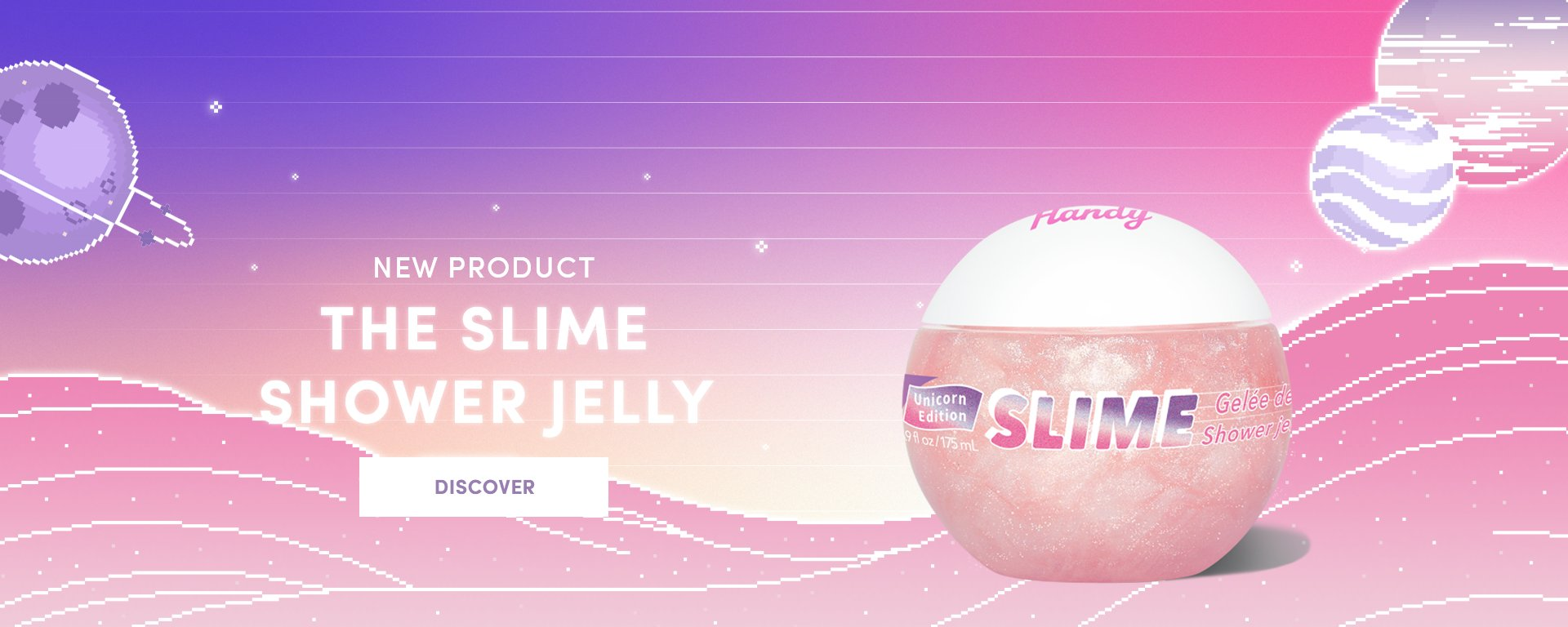the slime shower jelly