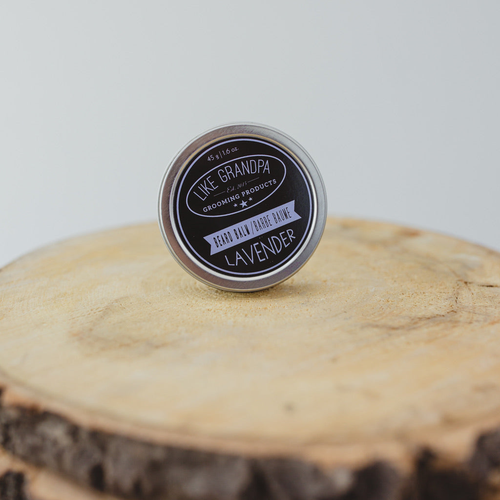 Beard balm in Lavender scent.