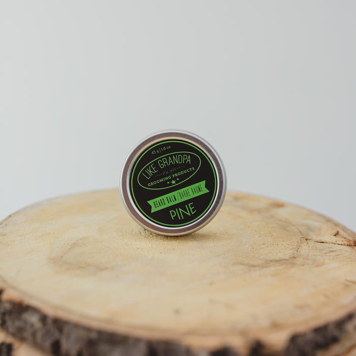 Beard Balm. Pine scented and all natural.