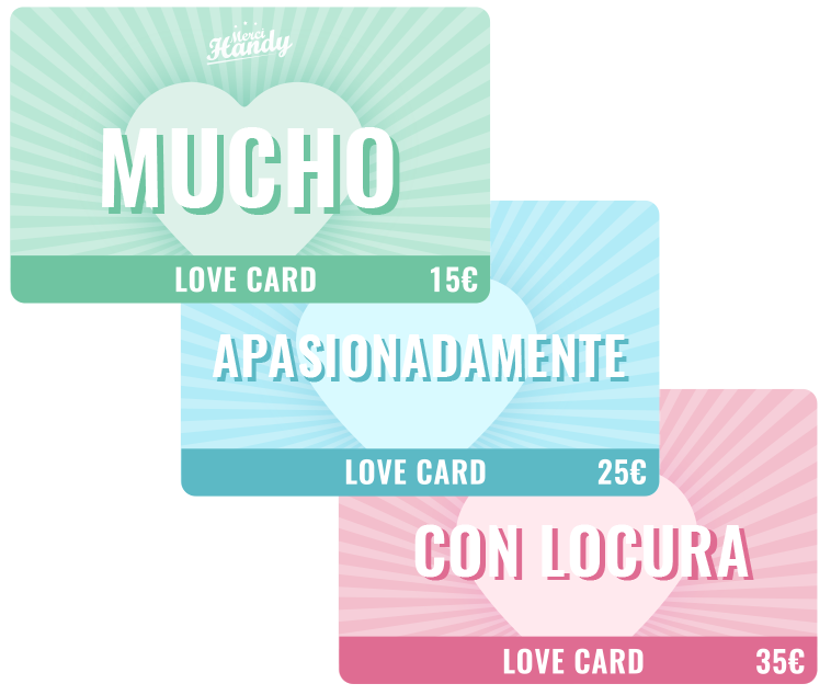 Love Card gift card - Merci Handy