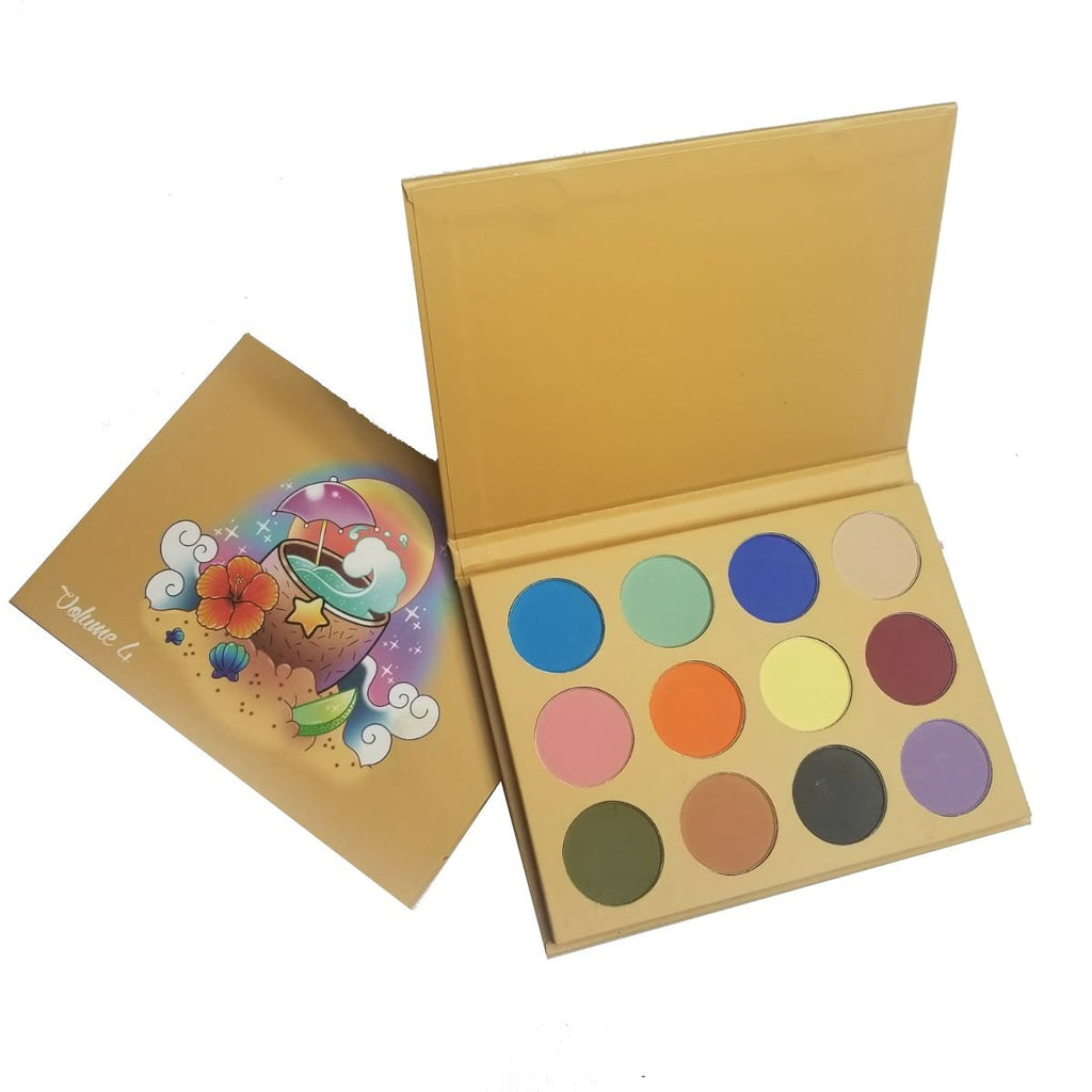 past edition volume 4 On The Beach Matte palette