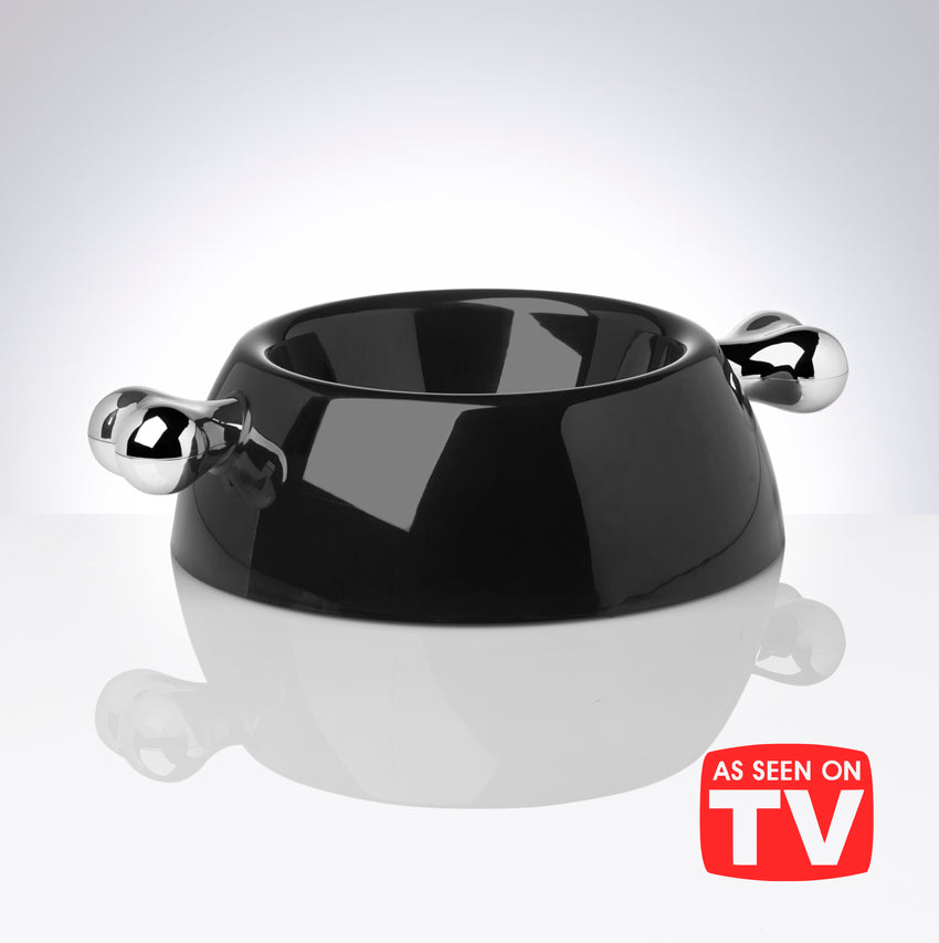 Atrium Signature Platinum Dog Bowl