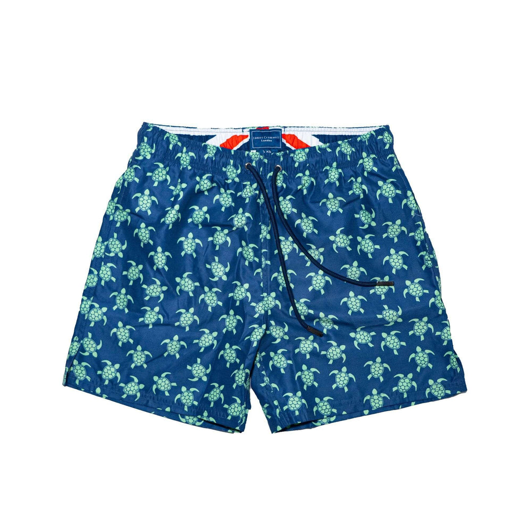 Navy Bold Green Turtle Boys