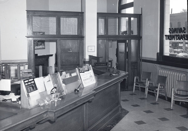 The Great Bank Robbery of 1959 Inside Bank Walkerville Ontario Windsor Prints