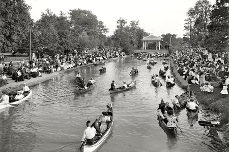 Belle Isle Concert on Grand Canal (1907)