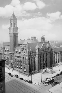 Detroit Post Office / Federal Building (1910)