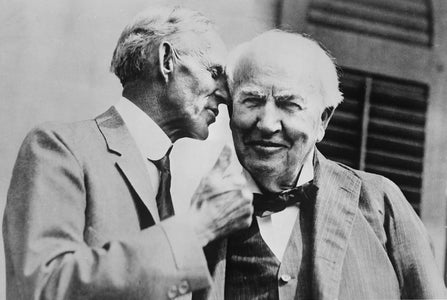Henry Ford & Thomas Edison (1930)