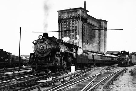 Michigan Central Station, Pere Marquette Train (1915)