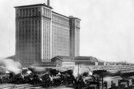 Michigan Central Train Station (1920)