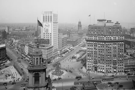 The Heart of Detroit, Washington Boulevard (1910)