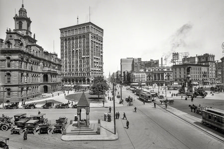 View of Campus Martius (1912)