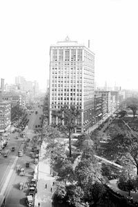 Washington Boulevard & Woodward Avenue (1920)