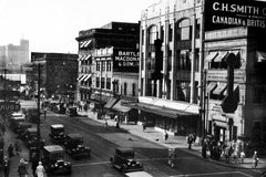 Above Ouellette Avenue (1920) - Downtown Windsor
