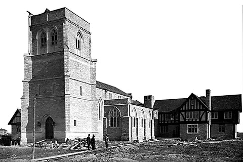 Building of St. Mary's Church (1904) - Walkerville
